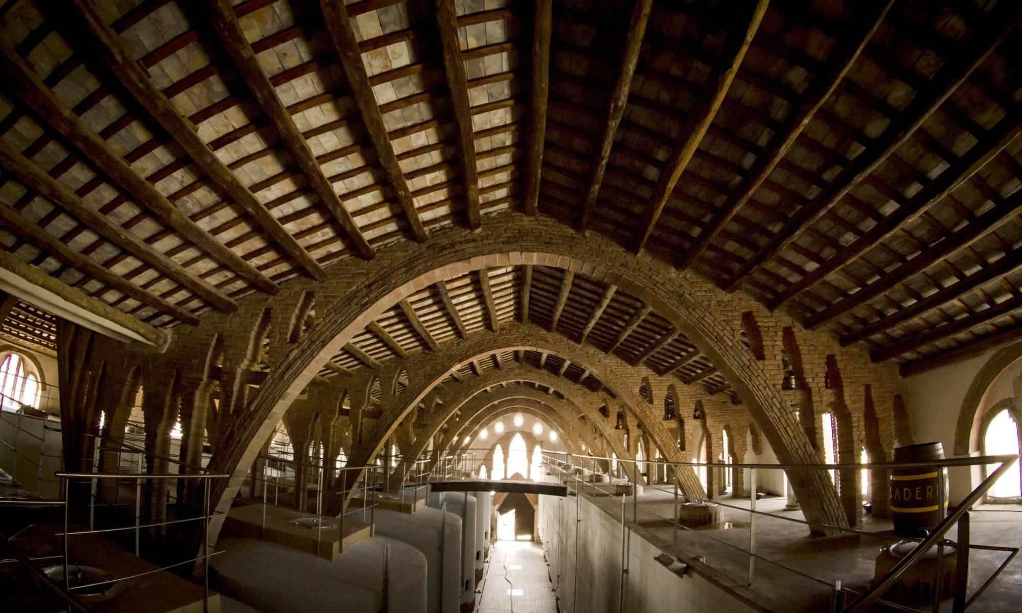 Catedral del Vi, joia modernista